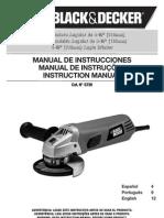 Manual de Instruccione Sblac &Decker