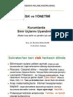 Risk ve Yönetim- İbrahim Atilla ACAR
