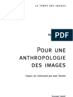 Belting Anthropologie Des Images