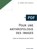 Belting Anthropologie Des Images