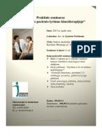 Praktinis seminaras neurologinis
