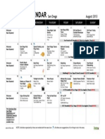 미국 Intrax-San-Diego-Activities-Calendar