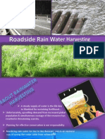 Roadside Rainwater Harvesting