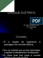13 CHOQUE ELÉTRICO