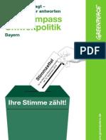 Wahlkompass Umweltpolitik 2013 (Bayern)