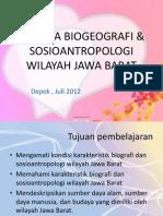 Bab 1 Biogeografi Sosioantropologi Jawa Barat