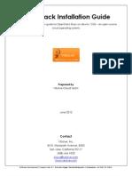 OpenStack Installation Doc