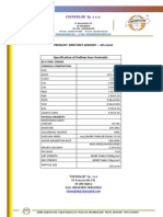Sodium base-bentonite 325 mesh - Chemical Products Specification Sheet - Chemiglob.com - bentonit sodowy