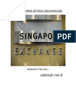 Singapore Stock Exchange Hardcopy