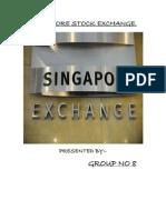 Singapore Stock Exchange Hardcopy