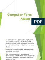 06. Computer Form Factors (Motherboard)