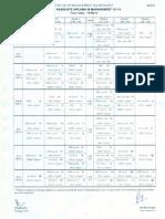 Term IV Class Schedule for Next Week 19.0813 - 28.08.13