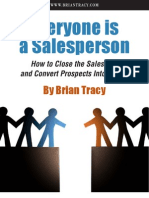 Everyone is a Salesperson