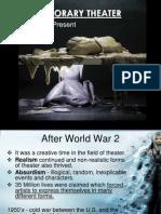 Contemporary Theatre FINAL REPORT