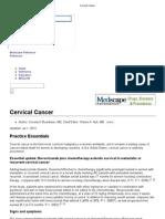 Cervical Cancer 1