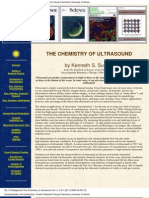 The Chemistry of Ultrasound