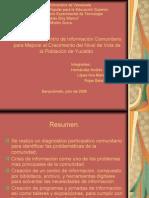 Presentacion Yucatan. (Proyecto Centro de Informacion).