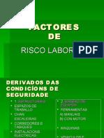 FACTORES RISCOS LABORAIS