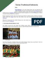 Tarian Daerah Indonesia (1)