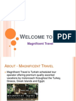 Magnificent Travel - overview