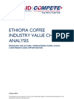 Ethiopian Coffee Industry Value Chain Analysis 2010