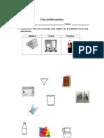 Ficha Objetos Materiales