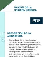 2. Metodologia de La Investigacion Juridica II