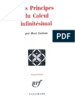Les Principes du Calcul Infinitésimal-René Guénon-