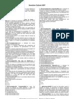 Questões - Outlook 2007