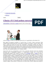Ciência e Fé Cristã podem conversar_ _ Portal da Teologia.pdf
