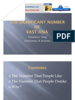 Significant Numbers in East Asian Culture