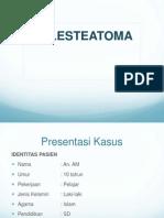 Presentasi Kolesteatoma ppt