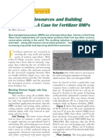 2006. Conserving Resources and Building Productivity... a Case for Fertilizer BMPs