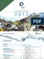 Agua de Quito - Informe de Buen Gobierno Corporativo 2012