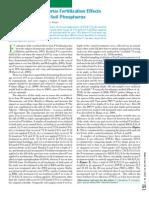 2007. Long-Term Phosphorus Fertilization Effects on Crop Yields and Soil Phosphorus
