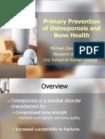Bone Health Presentation