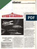 Starblazers rules FROM SPACEGAMER LONG OOP