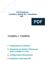 Manual de Taxbra - Sd2