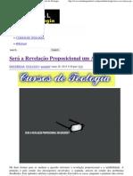 Será a Revelação Proposicional um Absurdo_ _ Portal da Teologia.pdf