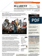 Britain's BDS campaign nearing watershed moment / Anshel Pfeffer, 21.8.13