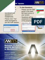 ANSYS AUTODYN in Workbench Introduction