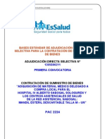 ADS 1305S00211 - Mandil Esteril Descartable Talla M