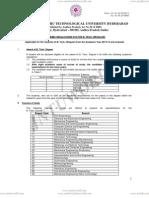 Academic Regulations for B.tech R13