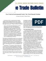 Free Trade in Environmental Goods