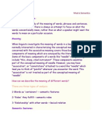 What is Semantics