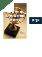Boost Morale