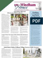 Pelham~Windham News 8-23-2013