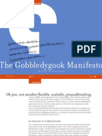 ChangeThis the Gobbledygook Manifesto by David Meerman Scott No