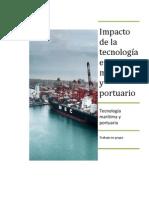 Impacto de la tecnología en el área marítimo y portuario