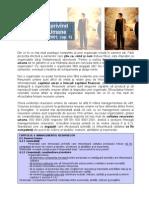 Cerinte ISO Privind Resursele Umane